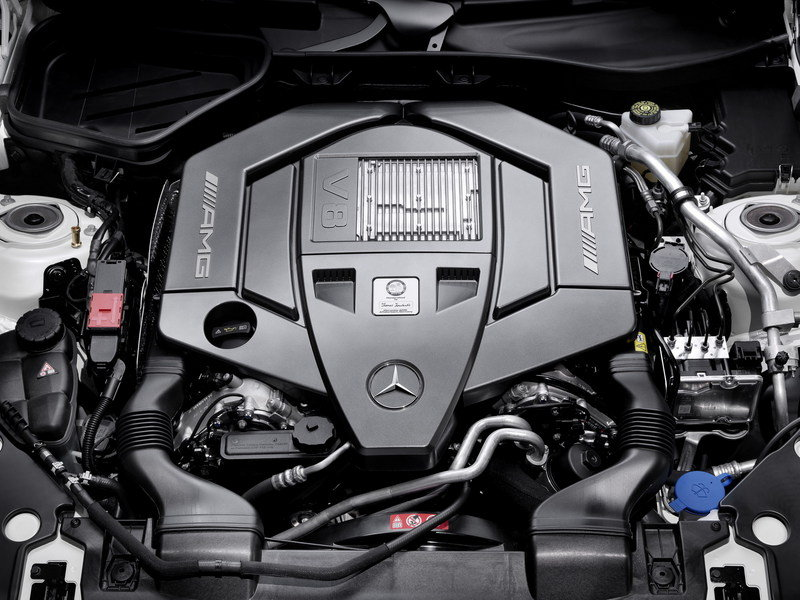 2012 Mercedes SLK55 AMG High Resolution Drivetrain - image 409544