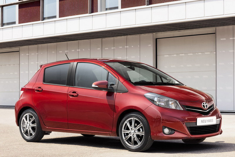 2012 Toyota Yaris High Resolution Exterior - image 409057