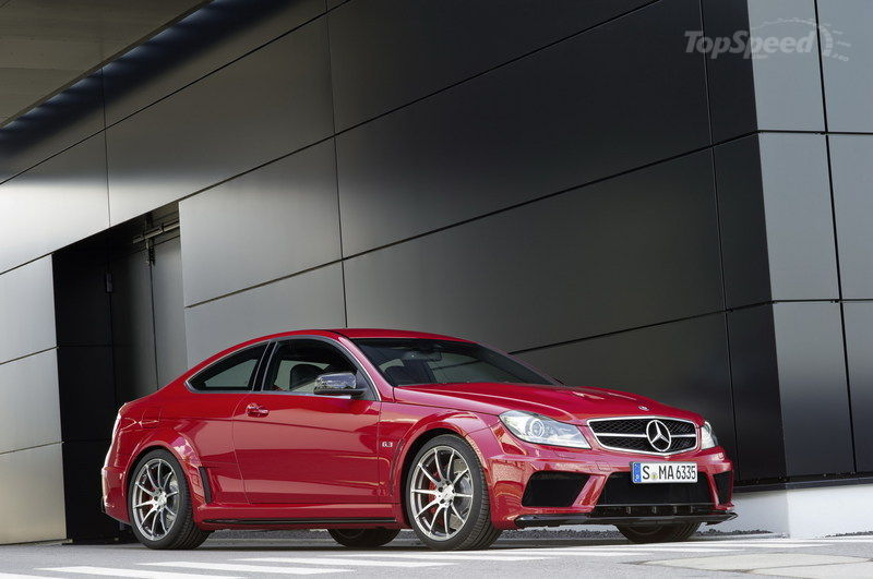 2013 Mercedes C63 AMG Black Series Coupe High Resolution Exterior - image 409734