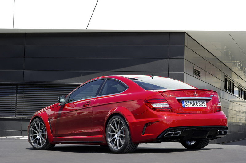 2013 Mercedes C63 AMG Black Series Coupe High Resolution Exterior - image 409733