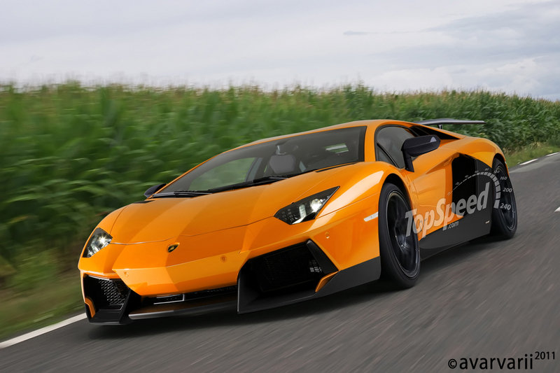2015 Lamborghini Aventador Superveloce Exterior Computer Renderings and Photoshop - image 409358