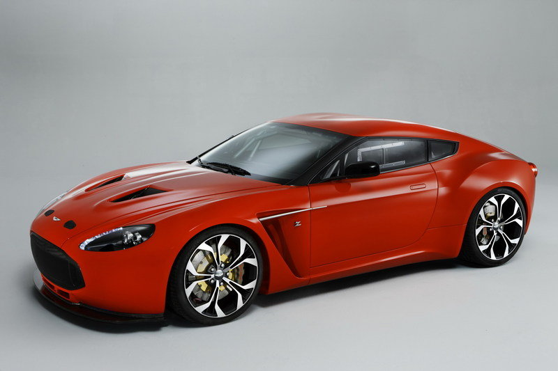 Aston Martin V12 Zagato limited to 150 units, priced at $530k