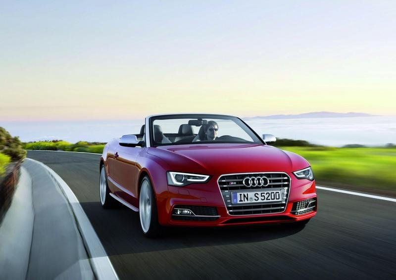 audi s5 convertible picture