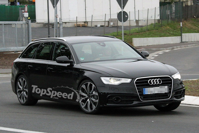 Spy Shots: Audi S6 Avant spied testing with no camouflage