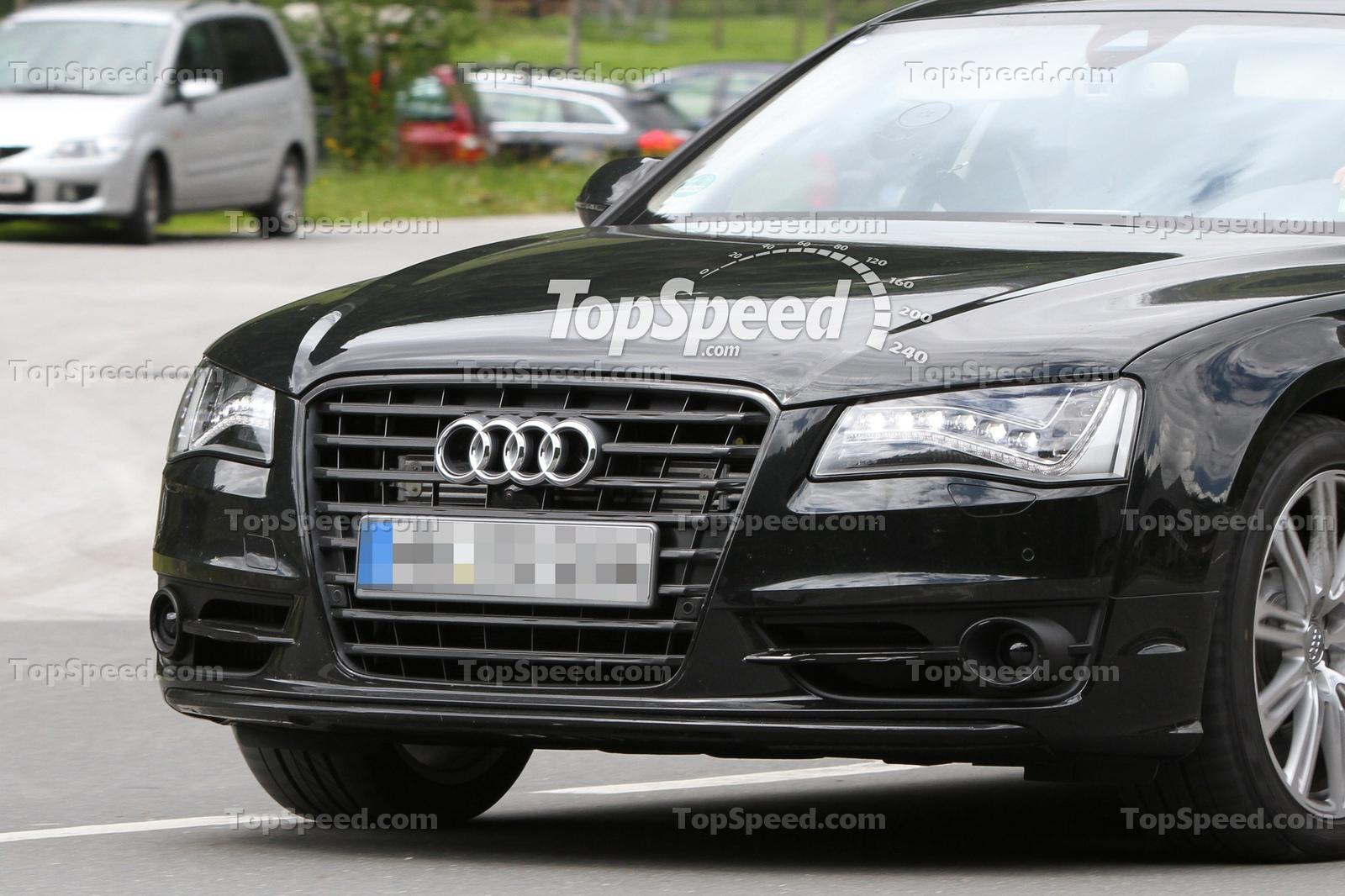 Audi S8 Spied Testing In The European Alps Pictures