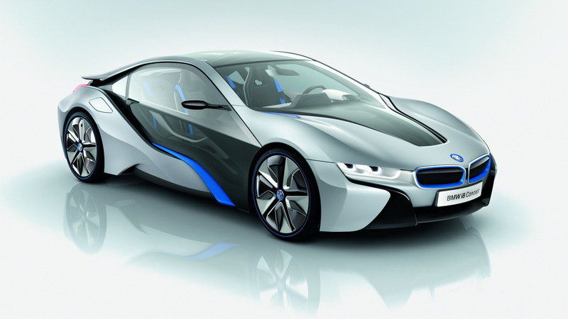 2011 BMW i8 Concept High Resolution Exterior - image 410411