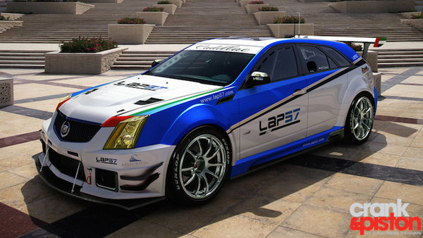 cadillac cts-v wagon race car picture