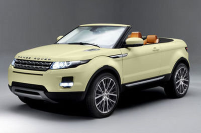 Land Rover Evoque cabrio in the works