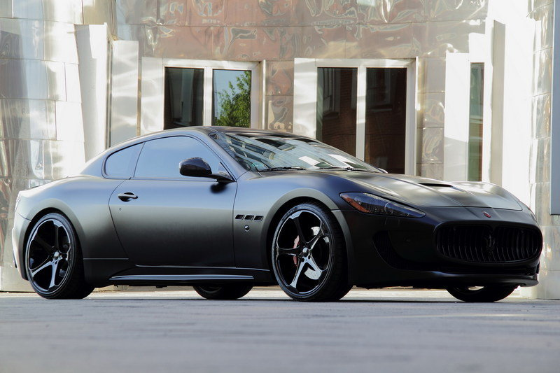 2011 Maserati GranTurismo S Superior Black Edition by Anderson Germany