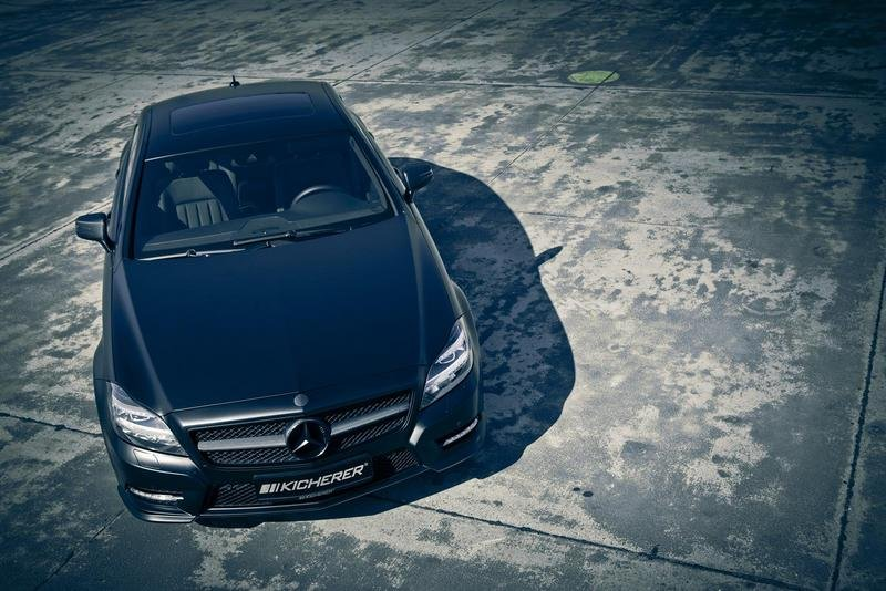 "2011 Mercedes CLS 500 ""The Big Black One"" by Kicherer"