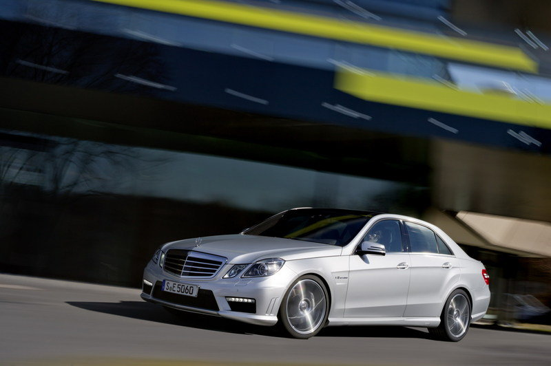 2012 Mercedes E63 AMG with AMG Performance Studio