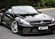 Mercedes SL R230 Black Edition by Prior Design