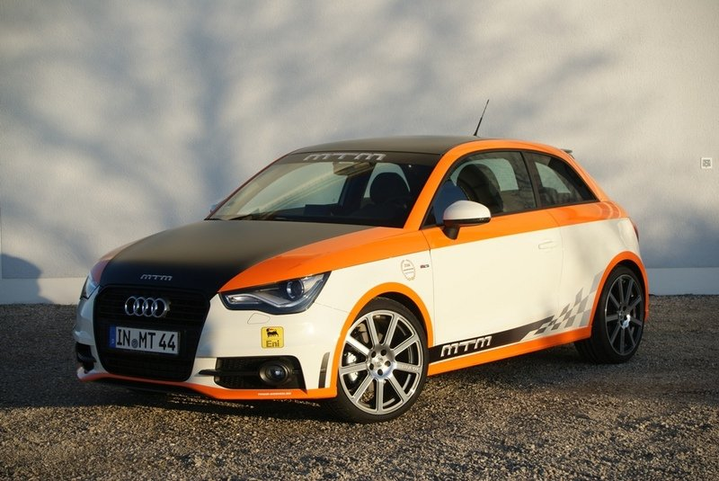 Audi A1 by MTM does 201 mph at Nardo Highspeed Test