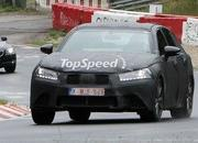 Spy Shots: 2012 Lexus GS shows off its LF-Gh-inspired grille at the Nurburgring - image 408894