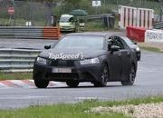 Spy Shots: 2012 Lexus GS shows off its LF-Gh-inspired grille at the Nurburgring - image 408895