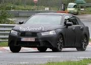 Spy Shots: 2012 Lexus GS shows off its LF-Gh-inspired grille at the Nurburgring - image 408896