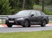 Spy Shots: 2012 Lexus GS shows off its LF-Gh-inspired grille at the Nurburgring - image 408897