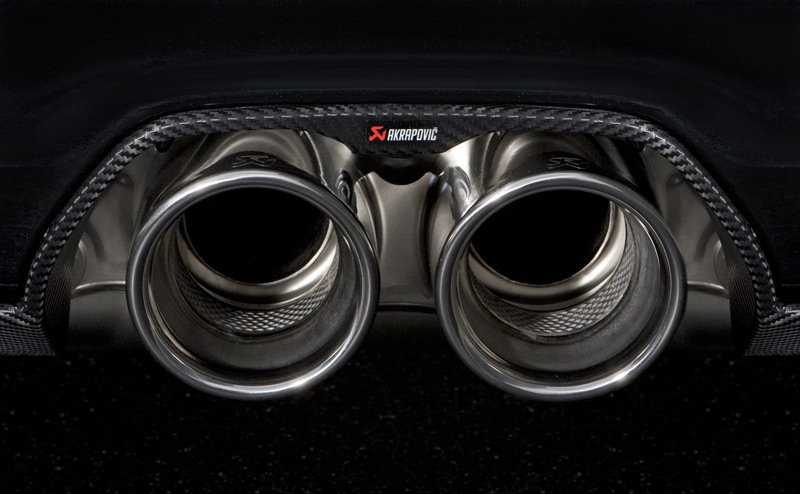 Porsche 911 GT3 RS 4.0 gets a boost from Akrapovic