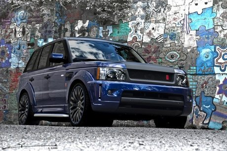 Range Rover Sport Bali Blue by Project Kahn