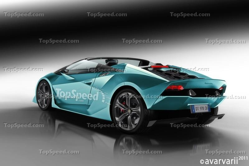 Rendering: Lamborghini's Future Lineup in Pictures