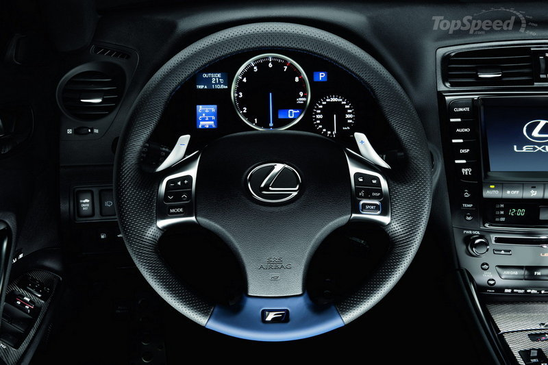 2010 - 2012 Lexus IS-F Interior - image 413631