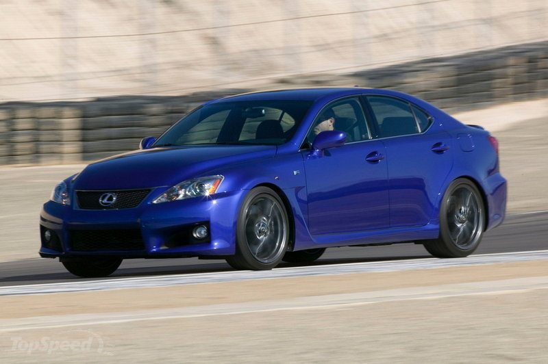 2010 - 2012 Lexus IS-F High Resolution Exterior - image 413651