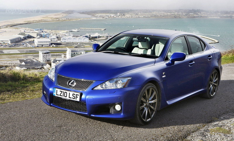 2010 - 2012 Lexus IS-F High Resolution Exterior - image 413620