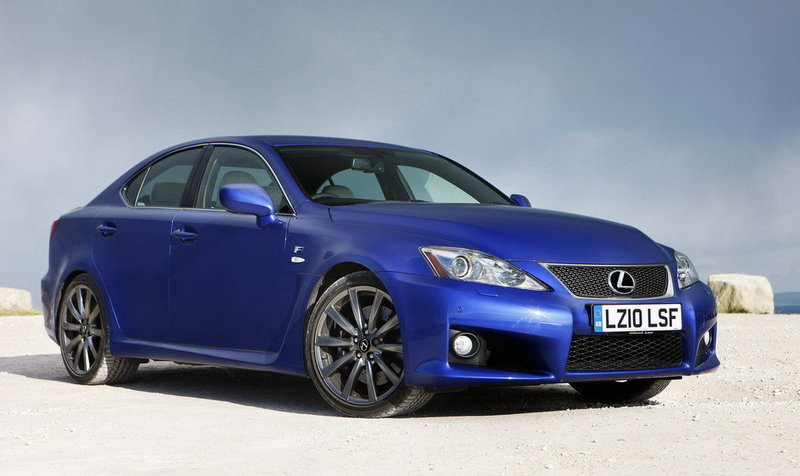 2010 - 2012 Lexus IS-F High Resolution Exterior - image 413621