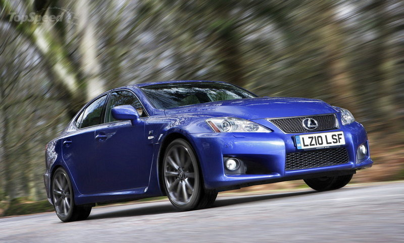 2010 - 2012 Lexus IS-F High Resolution Exterior - image 413623