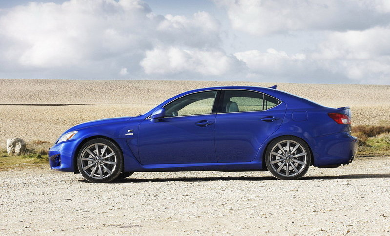 2010 - 2012 Lexus IS-F High Resolution Exterior - image 413627