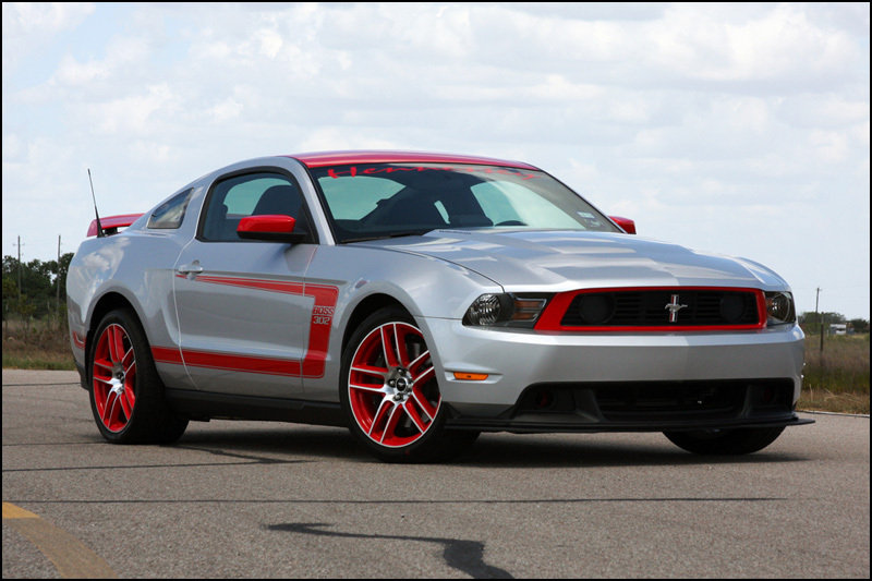 2012 Ford Mustang Boss 302 HPE650 by Hennessey