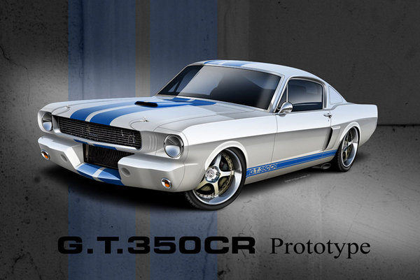 shelby g.t.350cr by classic recreations picture