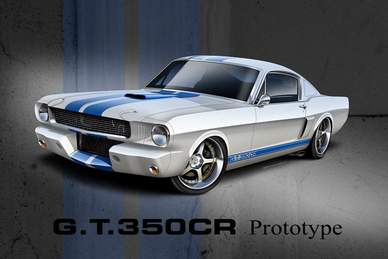 2011 Shelby G.T.350CR by Classic Recreations