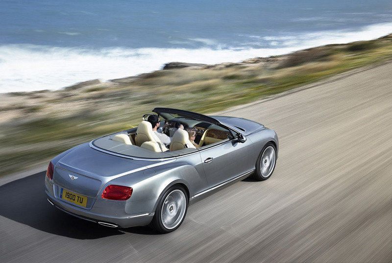 2012 Bentley Continental GTC High Resolution Exterior - image 413730