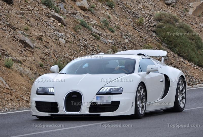 Spy Shots: 2012 Bugatti Veyron 16.4 Grand Sport Super Sport