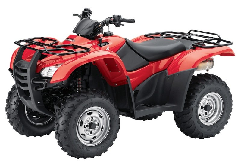 2012 Honda FourTrax Rancher AT with Electric Power Steering