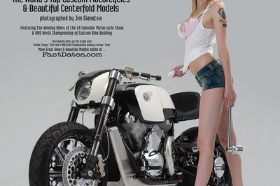 2012 Iron & Laces calendar features bikes and babes galore