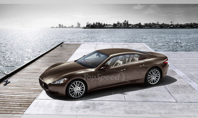 2014 - 2015 Maserati Quattroporte Exterior Computer Renderings and Photoshop - image 413118