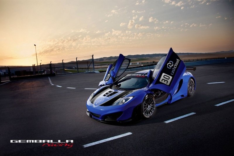 2012 McLaren MP4-12C by Gemballa Racing Team
