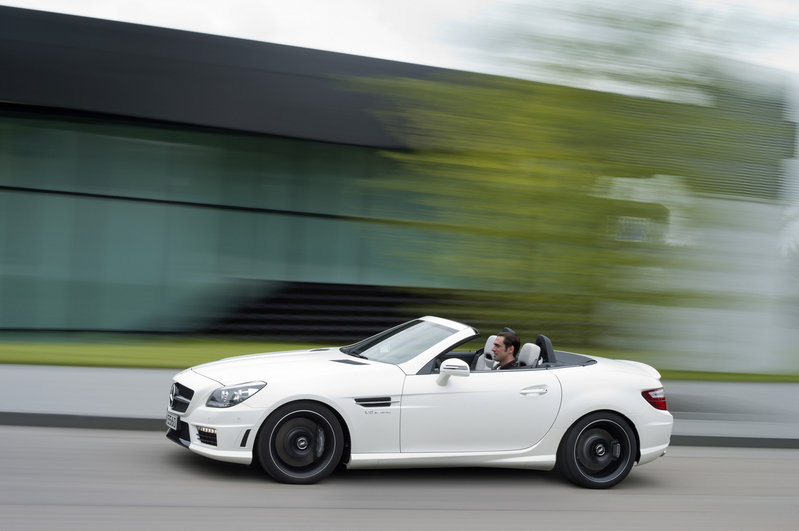 2012 Mercedes SLK55 AMG High Resolution Exterior - image 413306