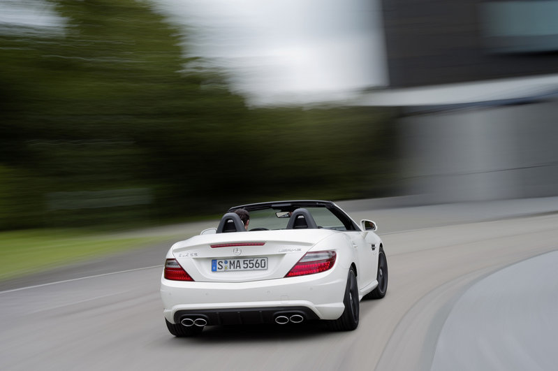 2012 Mercedes SLK55 AMG High Resolution Exterior - image 413310