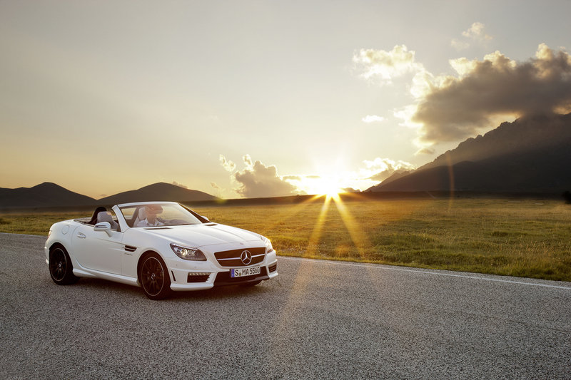 2012 Mercedes SLK55 AMG High Resolution Exterior - image 413297