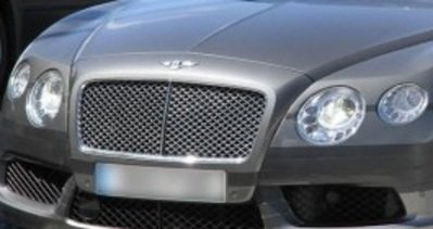 2013 Bentley GT Speed Spied Naked