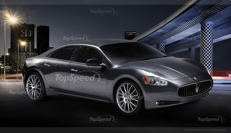 2014 - 2015 Maserati Ghibli Exterior Computer Renderings and Photoshop - image 413880