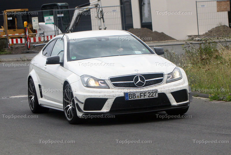 2013 Mercedes C63 AMG Black Series with Track/Aero Package