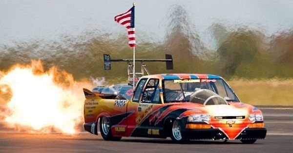 Chevrolet Flash Fire Jet Truck Is The World S Fastest