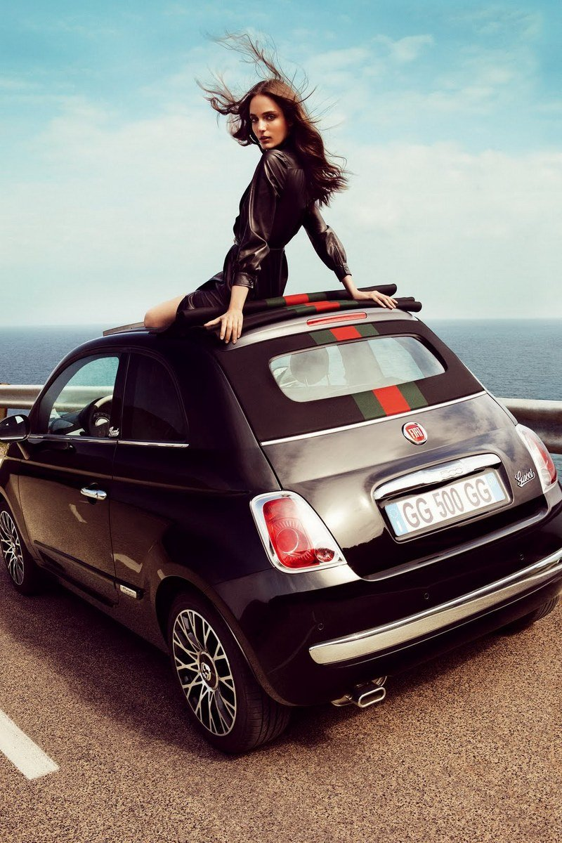 2012 Fiat 500 Cabriolet by Gucci Exterior - image 411495