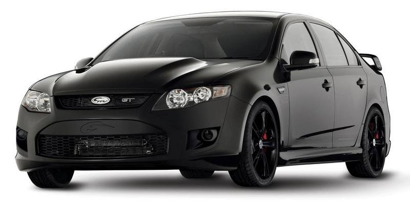 2011 Ford Performance Vehicles GT Black Limited Edition