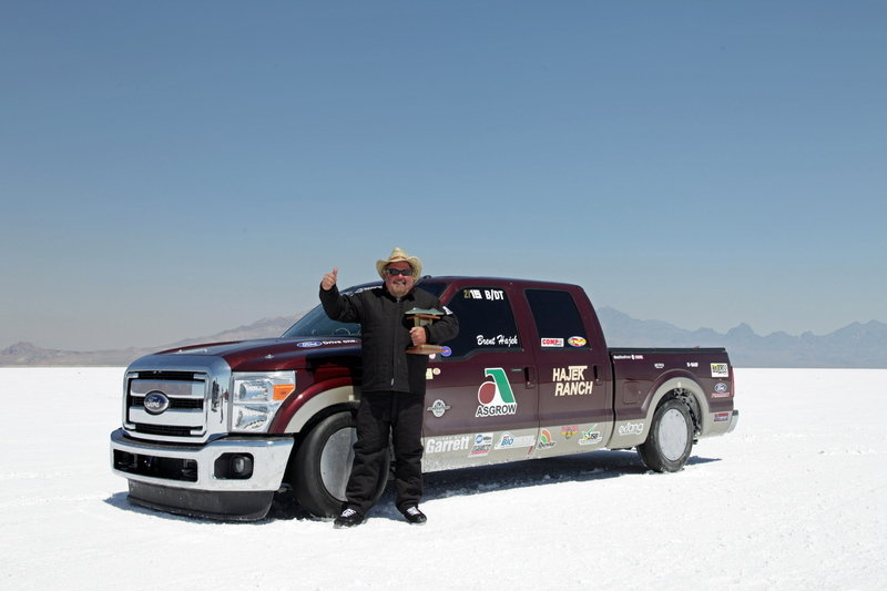 Hajek Motorsports Breaks Two Land Speed Records with Ford F-250