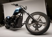 Honda Fury Furious Hardtail Chopper Concept